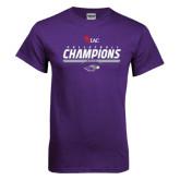 Purple T Shirt-WIAC Volleyball Champions 2016