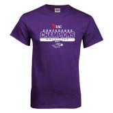 Purple T Shirt-2017 WIAC Champions Wrestling
