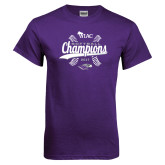 Purple T Shirt-WIAC Softball Champions