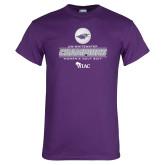 Purple T Shirt-WIAC 2017 Womens Golf Champions