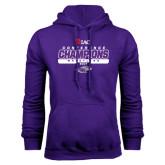 Purple Fleece Hoodie-2017 WIAC Champions Wrestling