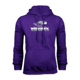 Purple Fleece Hoodie-Gymnastics