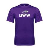 Syntrel Performance Purple Tee-UW-W w/Warhawk Head