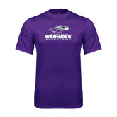 Performance Purple Tee-Basketball