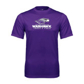 Performance Purple Tee-Track & Field