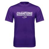 Syntrel Performance Purple Tee-2016 WIAC Champions Wrestling