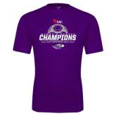 Syntrel Performance Purple Tee-WIAC Womens Soccer Champions - Six in Seven Years