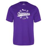 Syntrel Performance Purple Tee-WIAC Baseball Champions