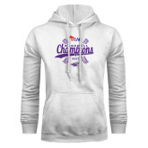 White Fleece Hoodie-WIAC Baseball Champions