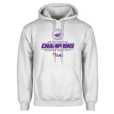 White Fleece Hoodie-WIAC 2017 Womens Golf Champions