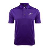 Purple Dry Mesh Polo-Warhawk Head