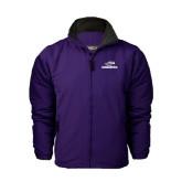Purple Survivor Jacket-Warhawks w/Warhawk Head