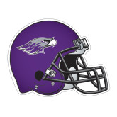Football Helmet Magnet-Warhawk Head