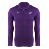 NIKE Orchid Dri Fit Training 1/4 Zip Top-
