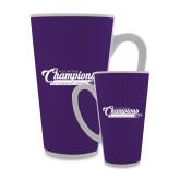 Full Color Latte Mug 17oz-2017 NCGA National Champions Gymnastics