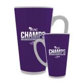 Full Color Latte Mug 17oz-WIAC Baseball Champions