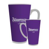 Full Color Latte Mug 17oz-WIAC 2017 Womens Tennis Champions