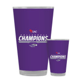 Full Color Glass 17oz-WIAC Volleyball Champions 2016