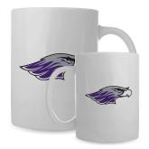 Alumni Full Color White Mug 15oz-Warhawk Head