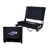 Stadium Chair Black-Warhawk Head