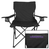 Deluxe Black Captains Chair-Warhawk Head