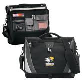 Slope Black/Grey Compu Messenger Bag-Widener Athletics