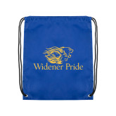 Royal Drawstring Backpack-Widener Pride