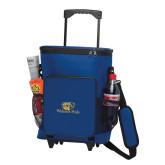30 Can Blue Rolling Cooler Bag-Widener Pride