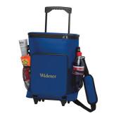 30 Can Blue Rolling Cooler Bag-Widener
