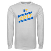 White Long Sleeve T Shirt-Class Of Design, Personalized year