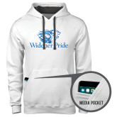 Contemporary Sofspun White Hoodie-Widener Pride