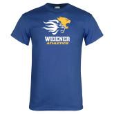 Royal T Shirt-Widener Athletics