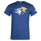 Royal T Shirt-Widener Mascots Mark