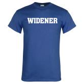 Royal T Shirt-Widener Wordmark