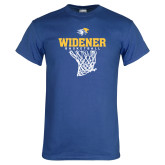 Royal T Shirt-Basketball Net Design