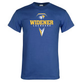 Royal T Shirt-Lacrosse Design
