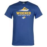 Royal T Shirt-Swimming Design