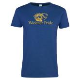 Ladies Royal T Shirt-Widener Pride