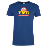 Ladies Royal T Shirt-PMC Stacked