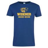 Ladies Royal T Shirt-Widener Pride Mom Mom