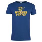 Ladies Royal T Shirt-Widener Pride Pop Pop