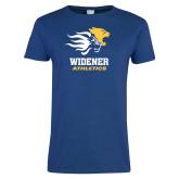 Ladies Royal T Shirt-Widener Athletics