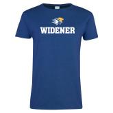 Ladies Royal T Shirt-Stacked Widener