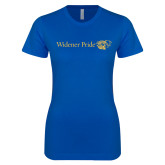 Next Level Ladies SoftStyle Junior Fitted Royal Tee-Widener Pride Flat