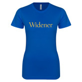 Next Level Ladies SoftStyle Junior Fitted Royal Tee-Widener