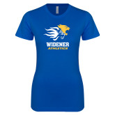 Next Level Ladies SoftStyle Junior Fitted Royal Tee-Widener Athletics