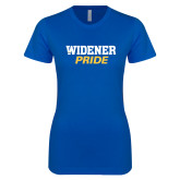 Next Level Ladies SoftStyle Junior Fitted Royal Tee-Widener Pride