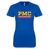 Next Level Ladies SoftStyle Junior Fitted Royal Tee-PMC