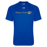 Under Armour Royal Tech Tee-Widener Pride Flat