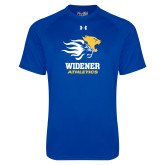Under Armour Royal Tech Tee-Widener Athletics